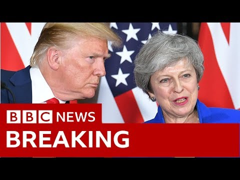 Trump-May news conference