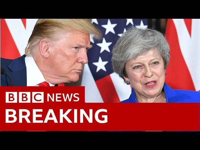 Trump-May news conference in full - BBC News