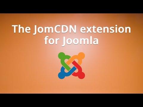 The JomCDN Extension For Joomla