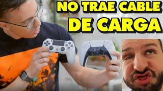 ¡RIDÍCULO MUNDIAL UNBOXING DE DUALSENSE, NO TRAE CABLE DE CARGA, MATERIALES CHATARRA A 70€! - Sasel