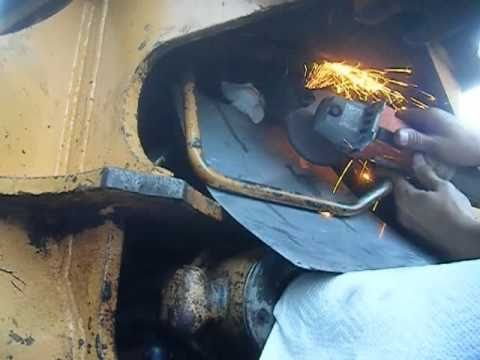 John Deere Backhoe Wiring Diagram Removing A Stubborn Hydraulic Fitting On Case 580 Youtube