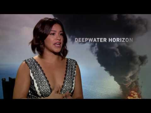 Deepwater Horizon: Gina Rodriguez Official Movie Interview