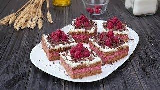 Малиновые пирожные - Рецепты от Со Вкусом
