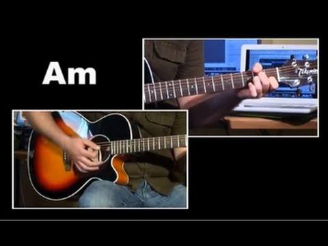 Gitarrenlieder für Anfänger - Joshua fougt the battle of jericho