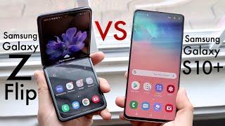 Samsung Galaxy Z Flip Vs Samsung Galaxy S10+! (Comparison) (Review)