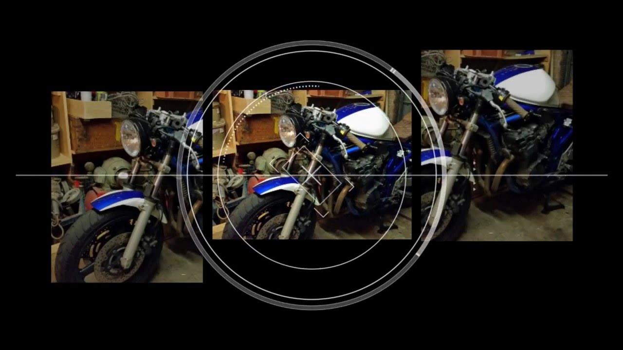 suzuki bandit 650 s cafe racer youtube. Black Bedroom Furniture Sets. Home Design Ideas