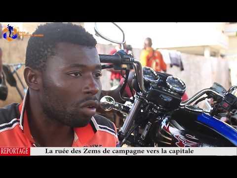 """Togo: La ruée des conducteurs de taxi motos """"Zems"""" de campagne vers la capitale"""