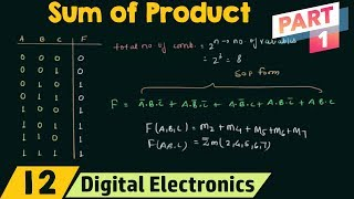 Sum of Products (Part 1) | SOP Form