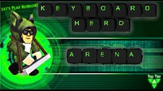 Let's Play Roblox: Keyboard Hero Arena