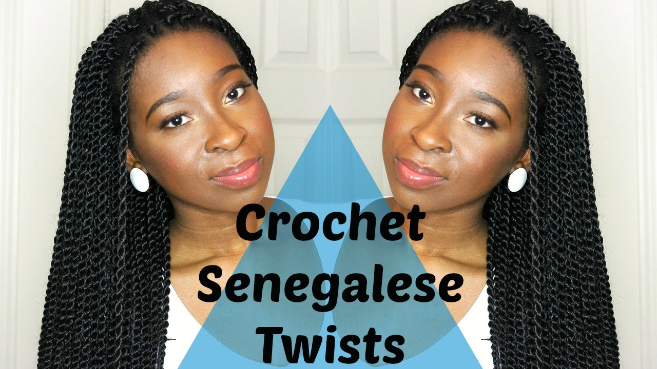 crochet senegalese twists mini