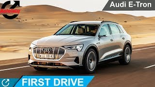 Audi's First All-electric Vehicle E-Tron | First Drive |  AutoToday