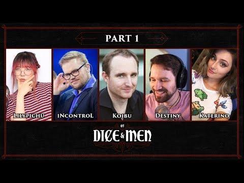 Of Dice & Men - D&D | EP 01 ft. LilyPichu, iNcontroL, Koibu & Katerino