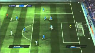 FIFA 11 - Olympique Lyonnais vs Chelsea Gameplay  XBOX 360/PS3 [NEW]