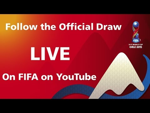 REPLAY: FIFA U-17 World Cup Chile 2015 - OFFICIAL DRAW