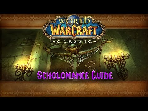 Classic WoW Dungeon Guide: Scholomance (57-60)