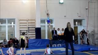 Прыжки на батуте 1 взрослый разряд 9 лет СШОР 41
