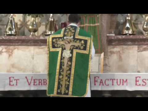 Tridentine Mass for the Sixth Sunday after Pentecost 26.06.2