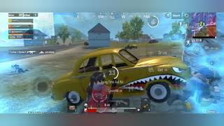 PUBG modile lite funny moments  chicken dinner  14+ kill   with my team