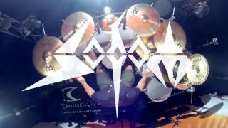 Sodom - Rolling Thunder - Drumcover by #5MinutesAloneDrums (Makka) on Tama Starclassic Performer