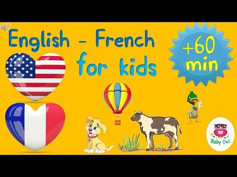 English French for children | Anglais français pour les enfants