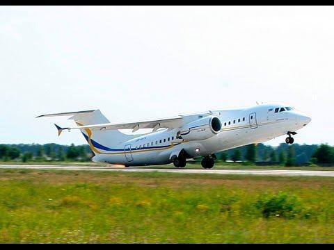 AN-158 performed its maiden flight/Ан-158 - перший політ
