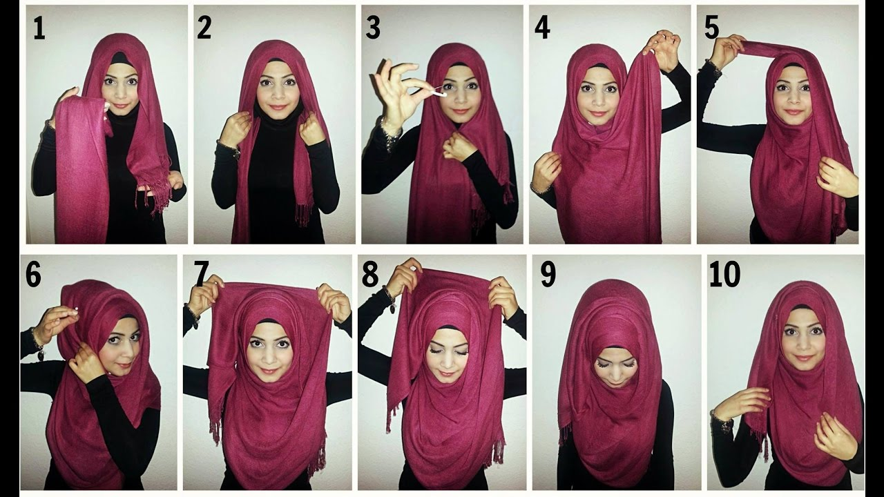 Beautiful Hijab Tutorial ♚ Everyday Simple Hijab Tutorial