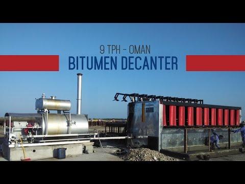 Bitumen Drum Decanters   Bitumen Drum Melter   Asphalt Drum Melter   Bitumen Decanter Video