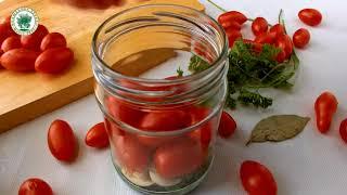 Маринованные помидоры с зёрнами горчицы