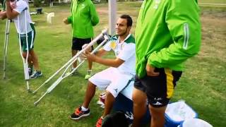 Luis Montes reportaje de su rehabilitación