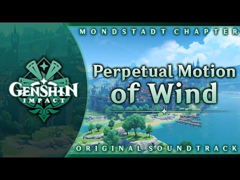 Genshin Impact Original Soundtrack: Perpetual Motion of Wind