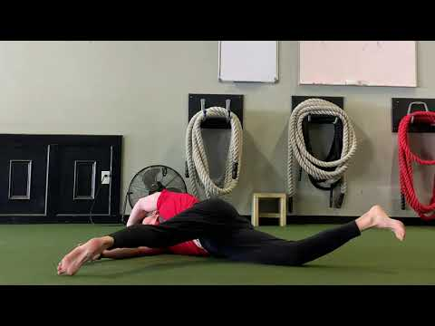 How to Stretch Your Adductors with Rolling