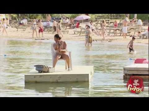 Floating Fishermen Prank