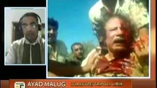 Repeat youtube video Ejecución de Muammar Gadafi - I Parte