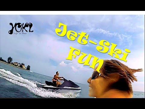 PORT DICKSON JET SKI - WE RACED EACH OTHER