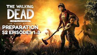 "The Walking Dead:Season 4 ""The Final Season"" Preparation Stream - Episode 1 Gameplay in 5 days"