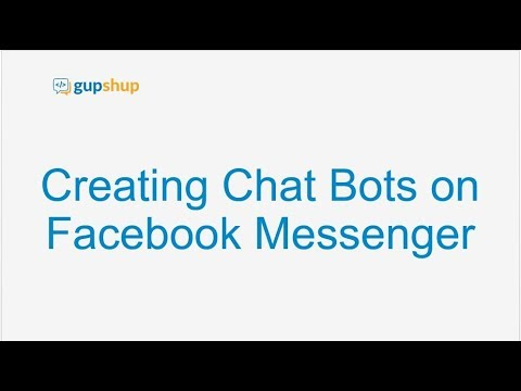 Webinar - Creating Chat Bots on Facebook Messenger