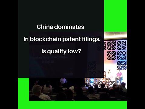 China Dominates Blockchain Patent Filings