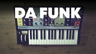 How to make Daft Punk's Da Funk synth sound with Moog Grandmother