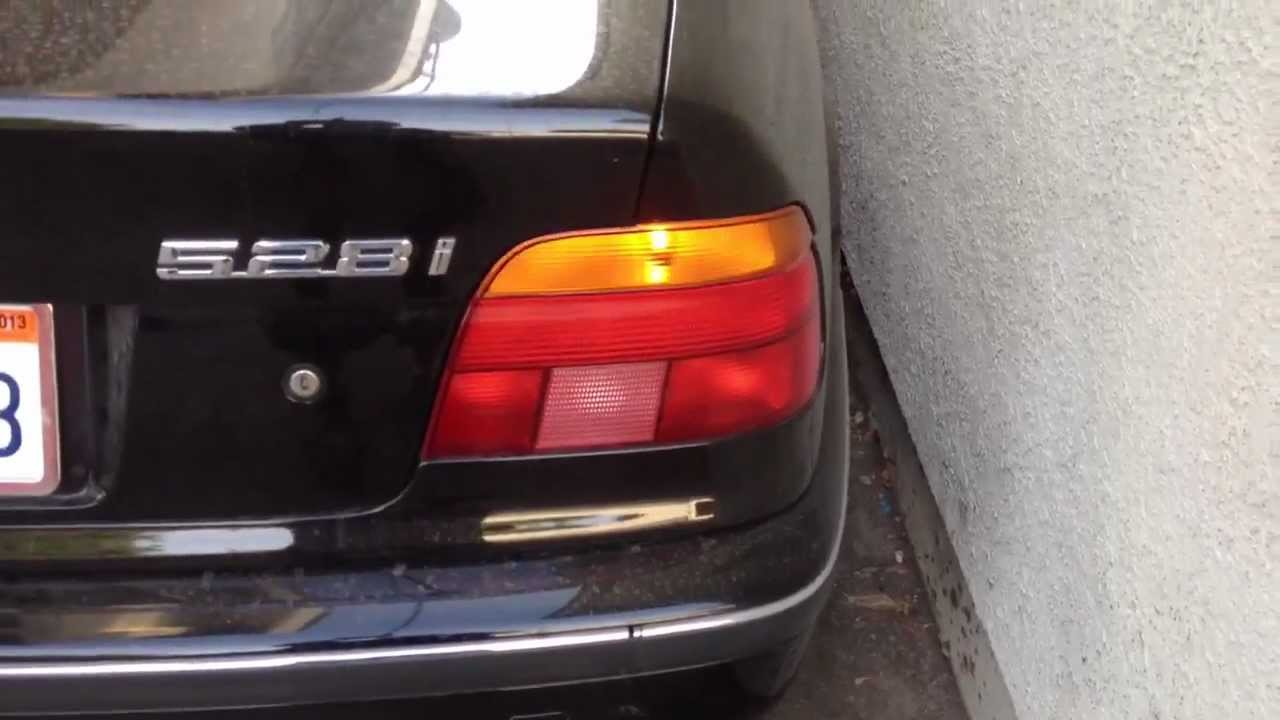 Fix Crazy Flashing Turn Signal Light 97 03 Bmw 5 Series