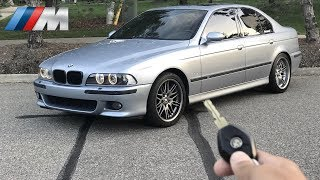 You Drive The BMW E39 M5! *STRAIGHT PIPED POV DRIVE*