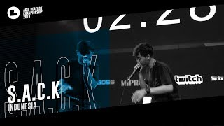 S.A.C.K(ID)|Asia Beatbox Championship 2017 Tag Team Elimination