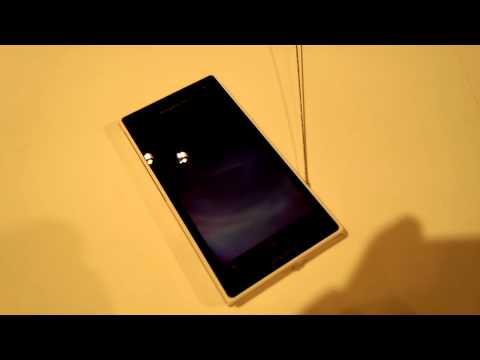 Bootup of Sony Ericsson Xperia acro HD SO-03D (Non-commercial Build)