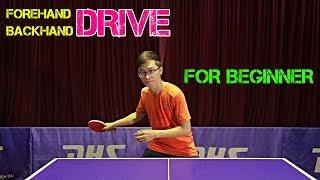 Learning Forehand Drive & Backhand Drive (Best Tip) | MLFM Table Tennis Tutorial