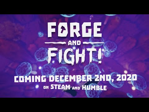 Forge and Fight! Full Release Date Announcement Trailer