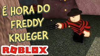 VIREI O FREDDY KRUEGER - THE CLOWN KILLINGS REBORN no ROBLOX