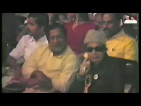 MGR and Shivaji Ganesan Together Rare Video