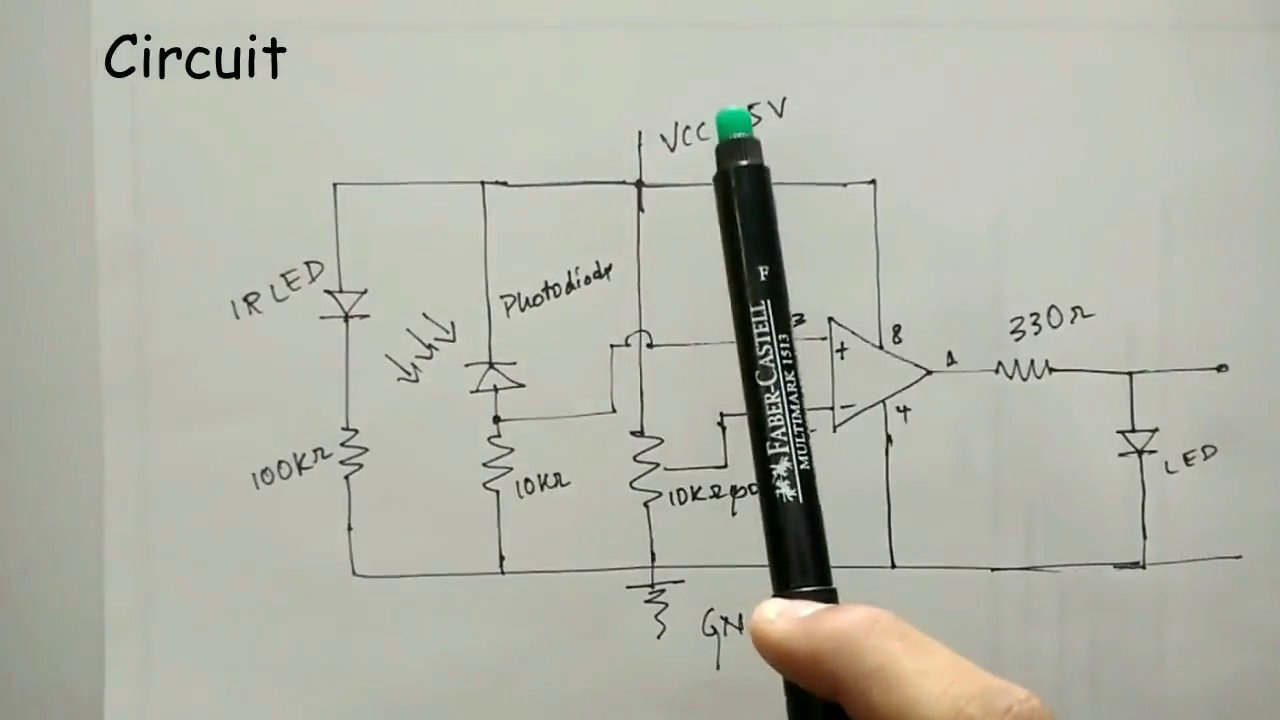 Working Of An Ir Sensor