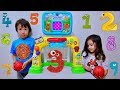 Learn Numbers and Count One to Ten with Baby Basketball Playset