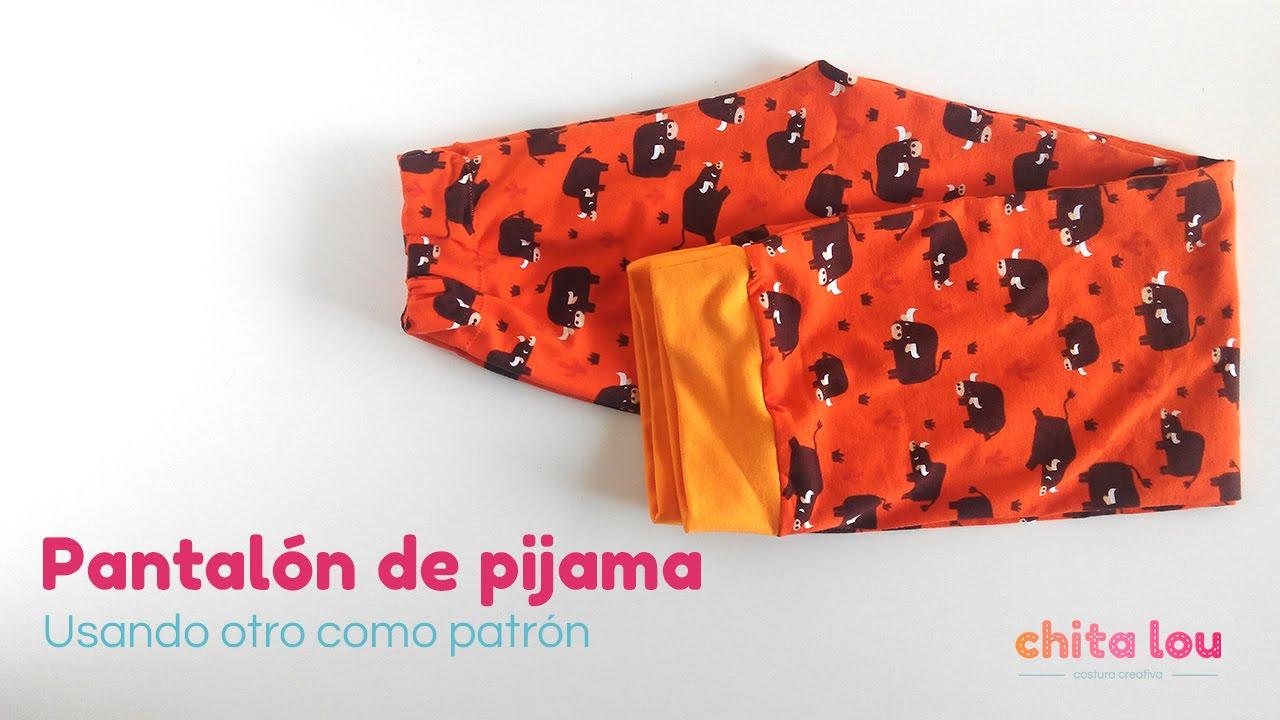 58848f177 DIY pijama para niño. Parte 1  pantalón - YouTube