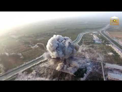 Taliban Afganistan'da gerçekleştirdiği canlı bomba saldırısını İHA (drone) ile kaydetti